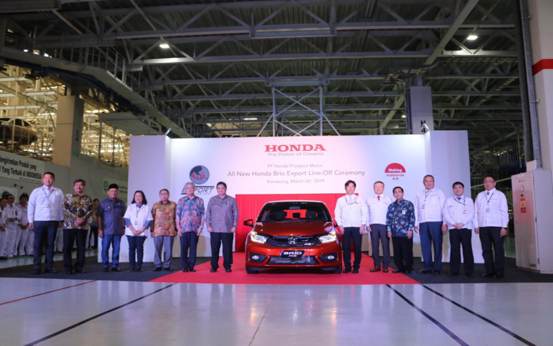 Honda Motor Targets Exports Us$1.8B From Indonesia In 2021