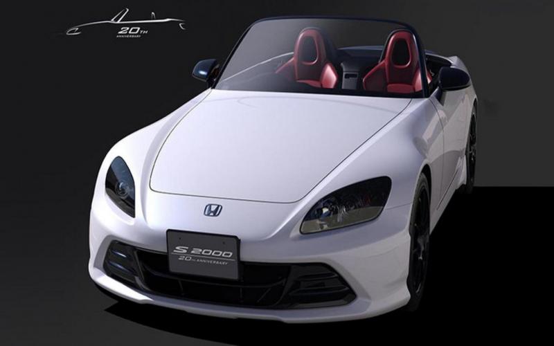 Honda S2000 In Het Nieuw Gestoken Voor Verjaardag - Topgear