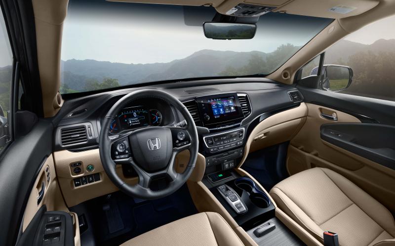 Interior Photo Gallery   The 2018 Pilot   Honda Canada