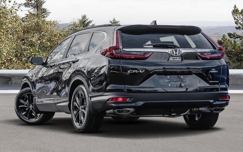 New 2020 Honda Cr-V Black Edition 4Wd