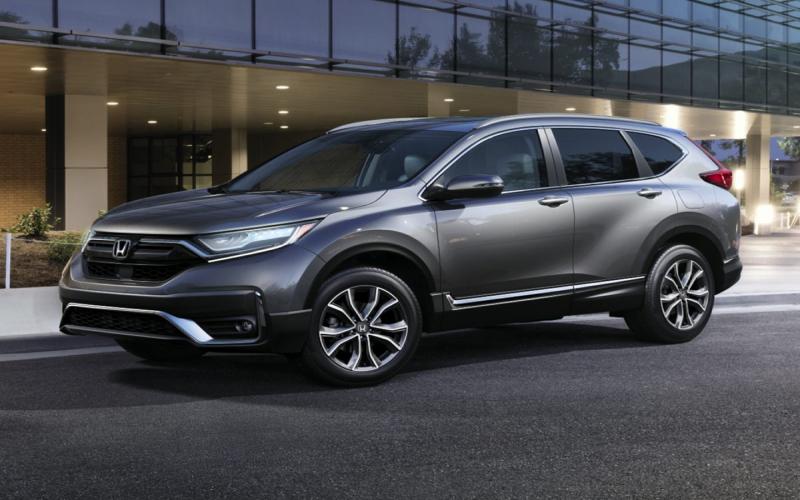 New 2020 Honda Cr-V Ex Fwd 4D Sport Utility