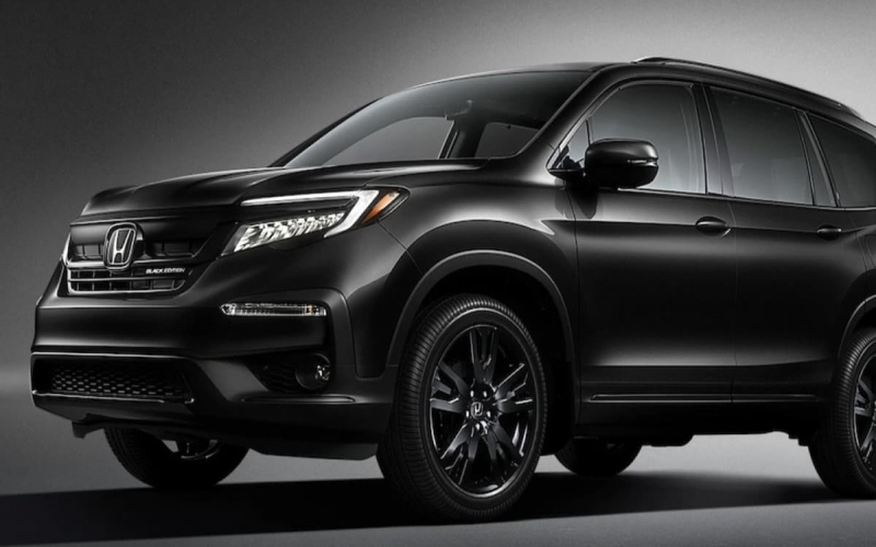 New Honda Pilot Black Edition Is Gorgeous But We Wouldn't