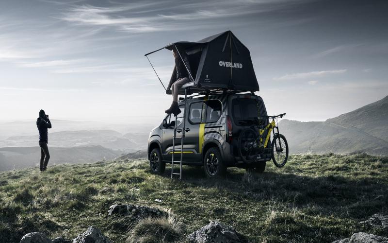 Peugeot Rifter 4X4 Camper Van Unveiled At Geneva Motor Show 2018