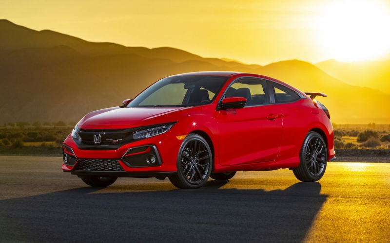 The 2020 Honda Civic Si Is Part Of The 10Th Civic Generation