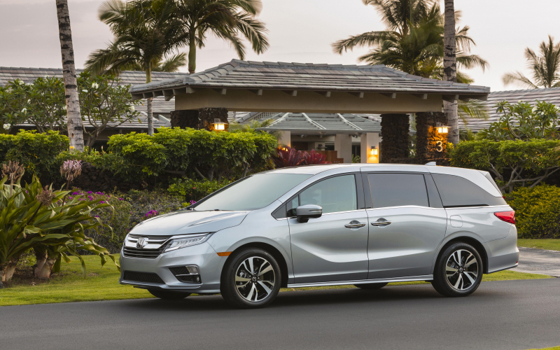 The 2020 Honda Odyssey Gets A 10-Speed Auto For Its 25Th