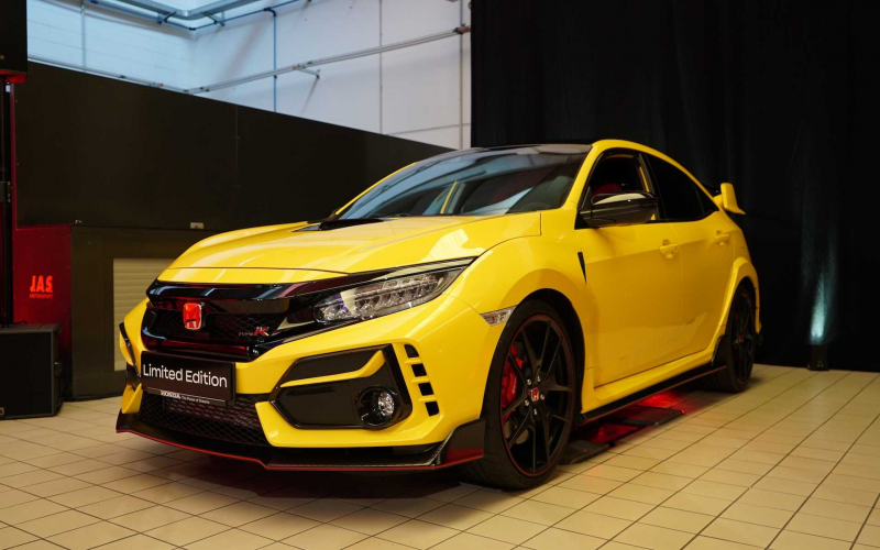 The 2021 Honda Civic Type R Limited Edition Is Ready For The Track