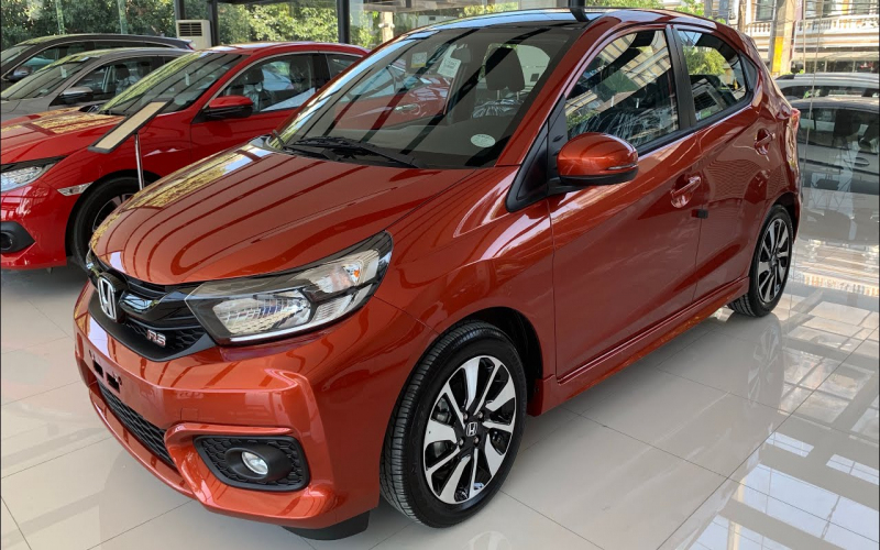 The All New 2019 Honda Brio 1.2 Rs Black Top Cvt ( Philippines ) Phoenix  Orange
