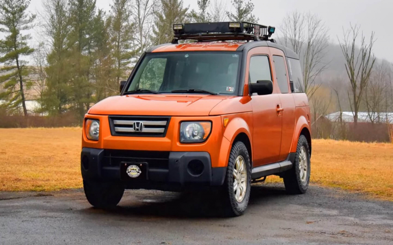 The Honda Element Was Innovative Yet Quirky. Does It Still