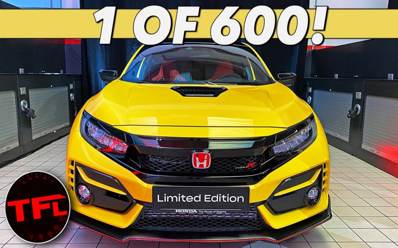 This 2021 Honda Civic Type R Limited Edition Is The Most