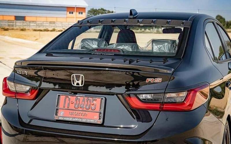 This Dark Themed New-Gen Honda City Rs Looks Like Mini Bmw 3