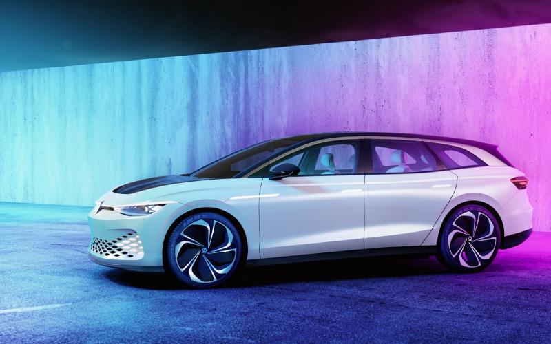 Volkswagen Id. Space Vizzion Komt In 2021 Op De Markt